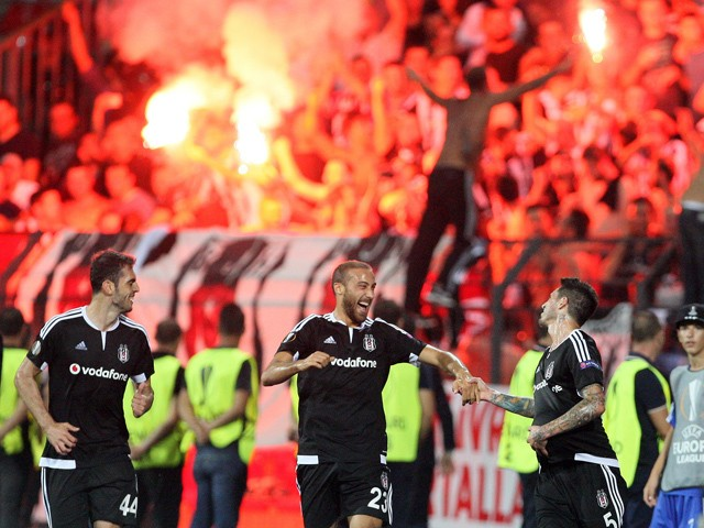 Beşiktas Skenderbeu Uefa Avrupa Ligi H Grubu Maçı. 26 Kasım Perşembe
