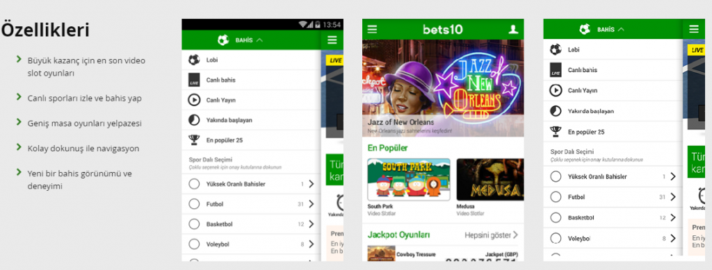 bets10-android-ekran