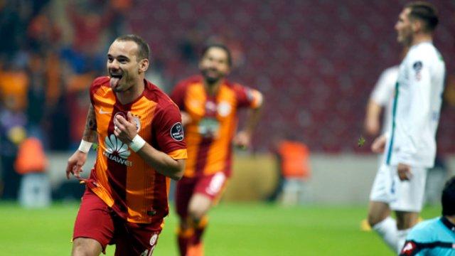 Spor Toto Süper Lig 12. hafta Galatasaray - Antalyaspor Maçı