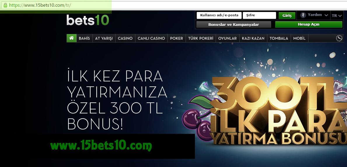 15Bets10 Bets10 Yeni Adresi 15bets10.com
