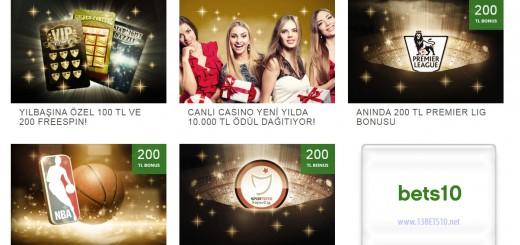 Bets10 Yeni Yıl Kampanyaları