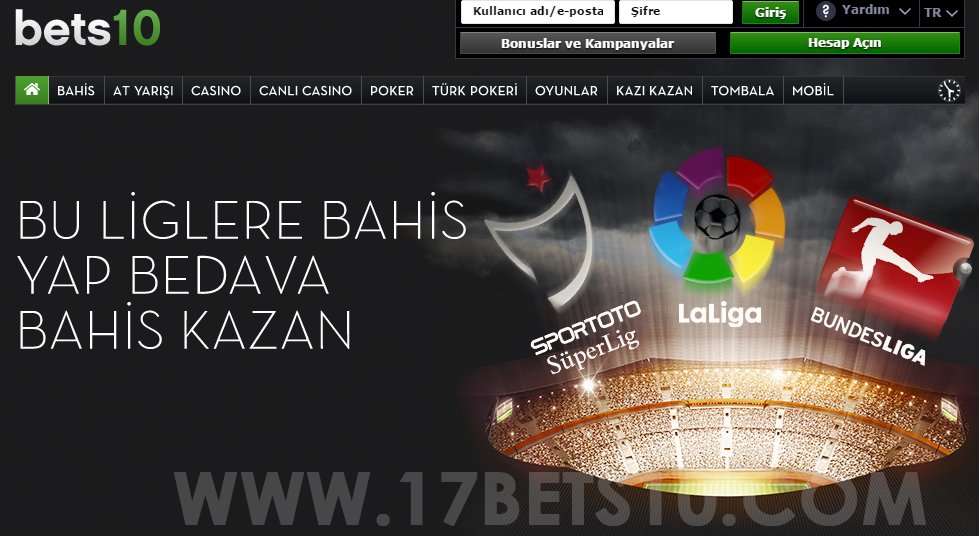 17Bets10 Yeni Adres, 17bets10.com