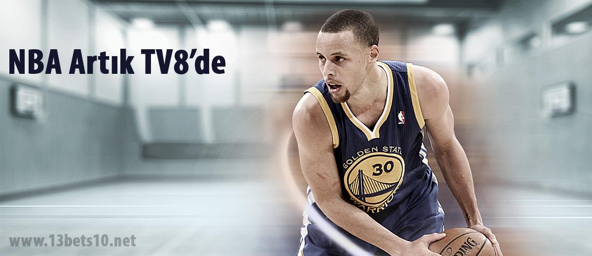 NBA Maçları Artık Tv8'de Heyecan Bets10'da