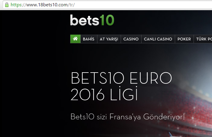 18Bets10.Com Bets10 Yeni Adresi Oldu