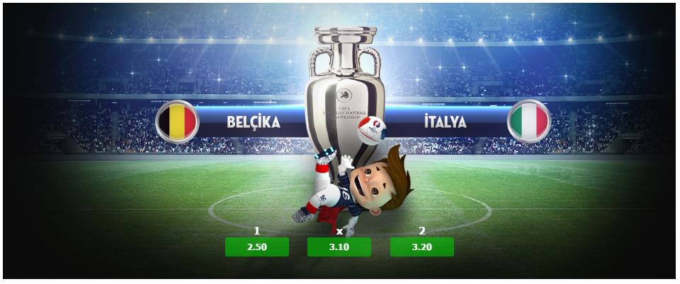 Belçika İtalya Maçı ve Euro 2016 Tahminleri 13 Haziran 2016
