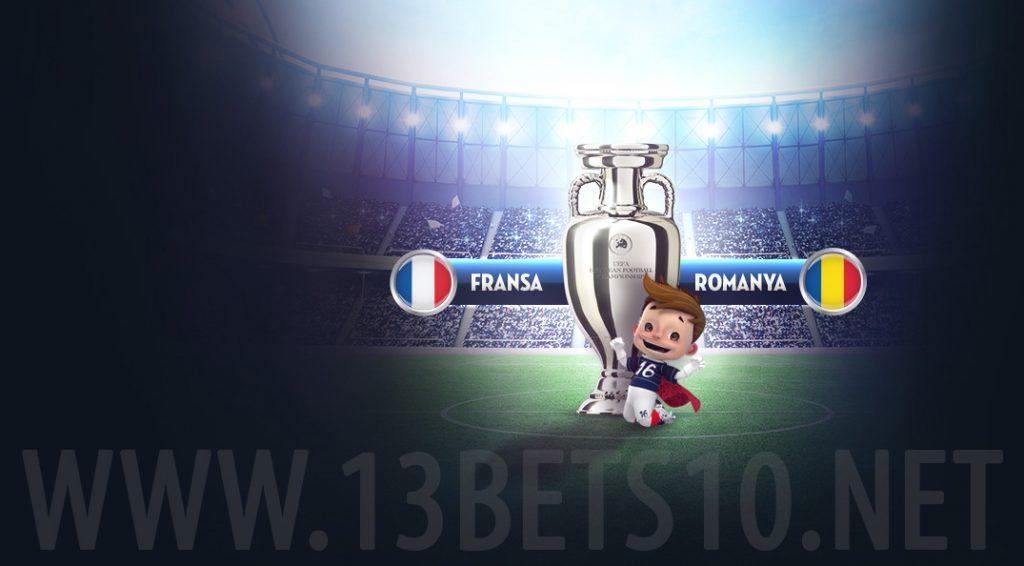 Fransa Romanya Euro 2016 Maçı Bahis ve iddaa Tahminleri