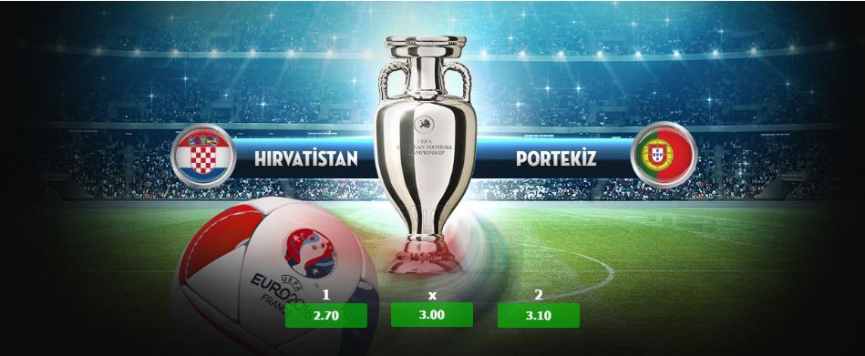 22:00 Hırvatistan - Portekiz