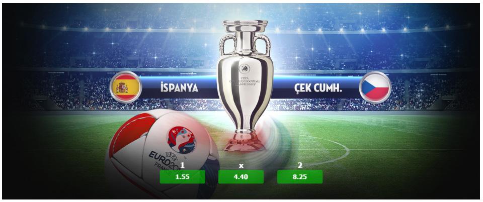 İspanya Çek Cumhuriyeti Maçı ve Euro 2016 Tahminleri 13 Haziran 2016