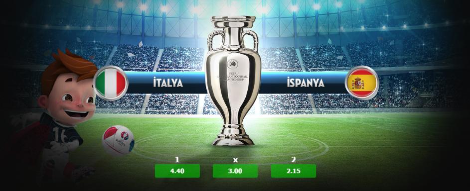 19:00 İtalya - İspanya