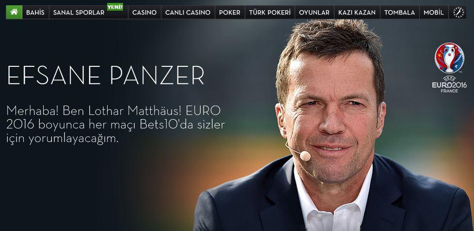 İşte Lothar Matthäus analizleri: