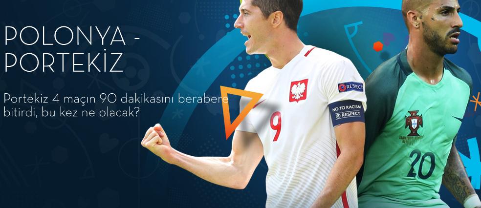 Polonya Portekiz Euro 2016 30 Haziran 2016