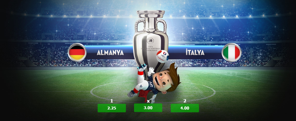 Almanya İtalya 2 Temmuz 2016 Euro 2016