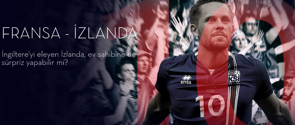 Fransa İzlanda 3 Temmuz 2016 Euro 2016