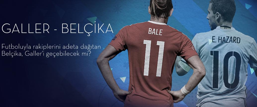 Galler Belçika 1 Temmuz 2016 Euro 2016