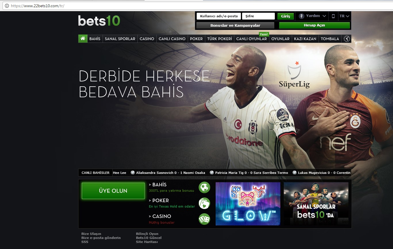 22bets10.Com Yeni Adres