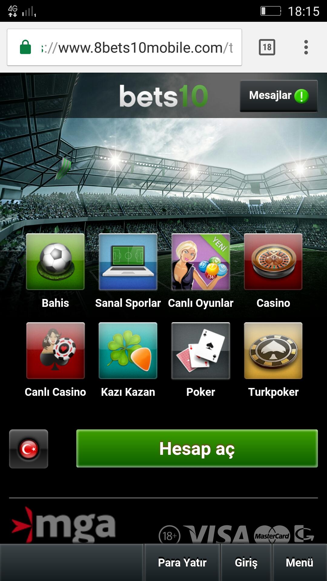 9Bets10Mobile.com Yeni Bets10 Mobile Adresi