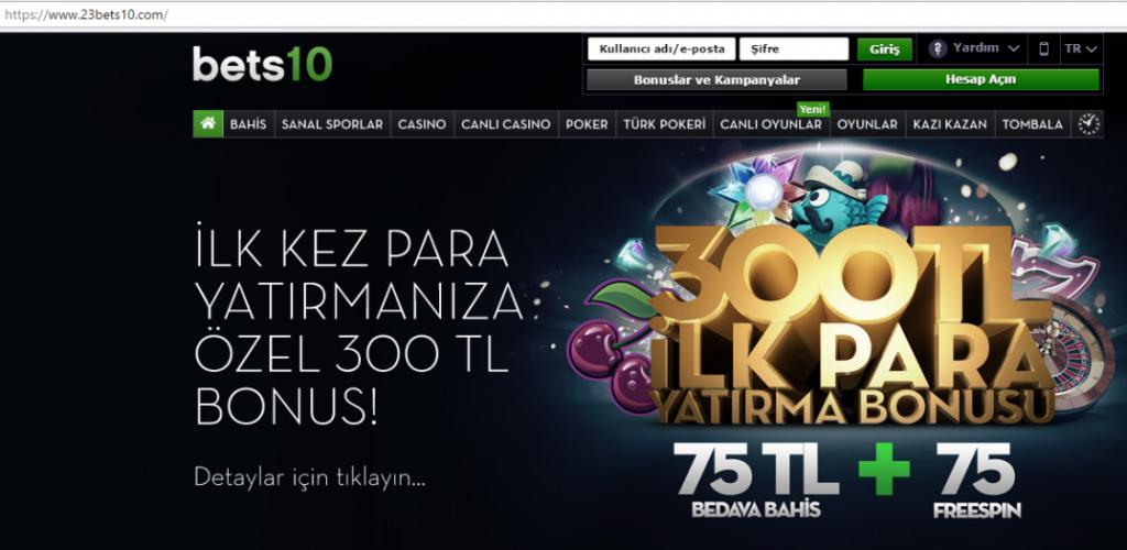 23Bets10.com Yeni Adres