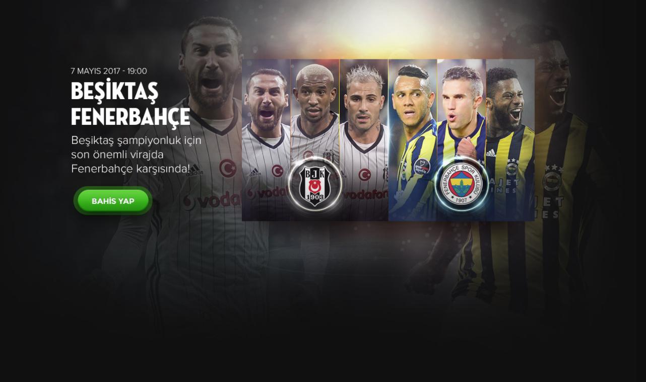 Bets10 dan Beşiktaş Fenerbahçe Derbisine Dev Bonuslar